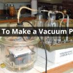 How To Make a Vacuum Purge
